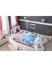 Duvet Cover Set 3 pcs Twin Size 100% Cotton Beding Linens for Kids Children