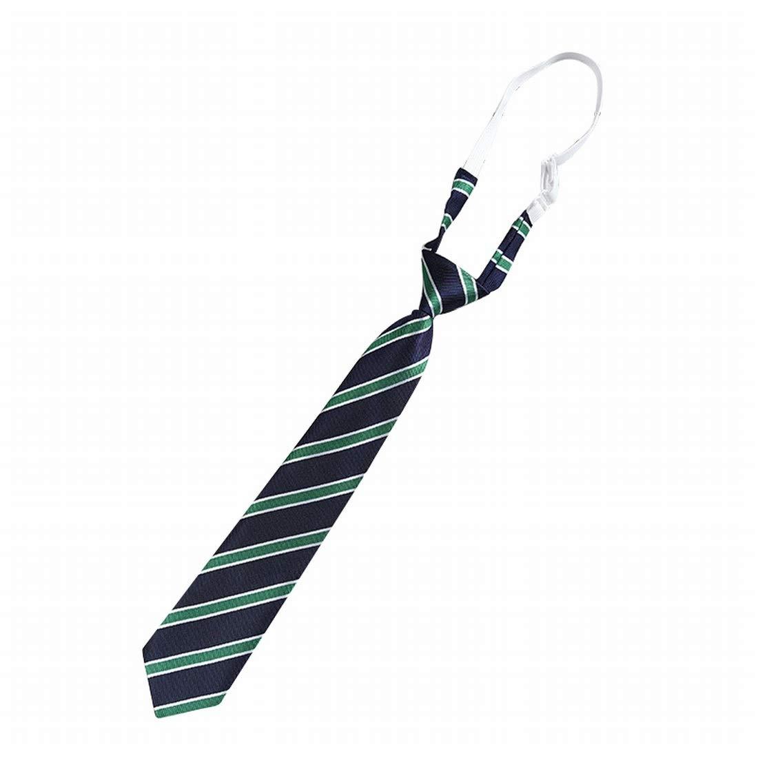 Hemotrade Corbata Corta a Cuadros Uniforme Corbata para ...