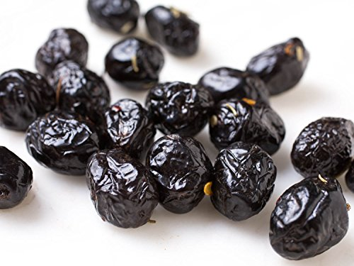 Dry Oil Cured Black Olives - 1 lb (Oil Cured Black Olives)