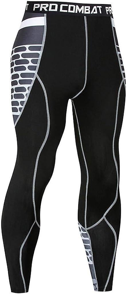Gusspower Sportunterw/äsche Set Herren Lange Funktionsw/äsche Thermo Unterw/äsche Atmungsaktiv Kontrastnaht Unterw/äsche Workout Skifahren Laufen Wandern B05