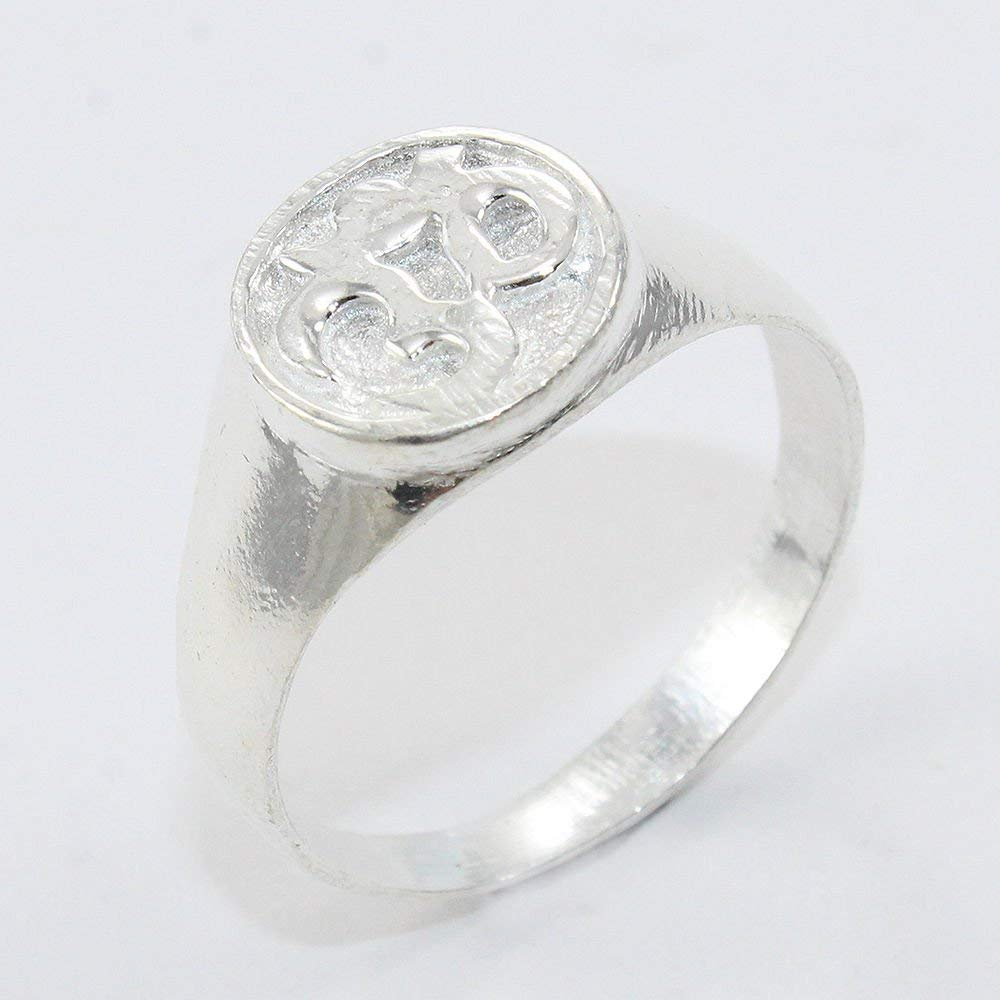 Religious OM 925 Sterling Silver Cameo Ring