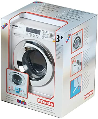Amazon.com: Theo Klein Miele Máquina de lavar juguetes: Toys ...