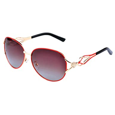 7eed9bb3a8 ... Vintage Big Oversized Clear Frame  Red Womens Fashion Brand Designer  Sunglasses Polarized Aviator Oversized Eyewear wide range 21d70 271fe ...