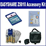 Kodak EASYSHARE Z5010 Digital Camera Accessory Kit includes: SB257 Charger, KSD2GB Memory Card, SDC-26 Case, ZELCKSG Care & Cleaning