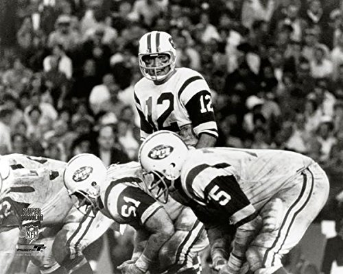 - New York Jets Joe Namath During Super Bowl III (3) 8x10 Action Photo Picture.