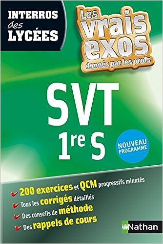 Téléchargement de livres sur l\'iPhone INTERROS DES LYCEES SVT 1ERE S 2091882771 PDF ePub iBook