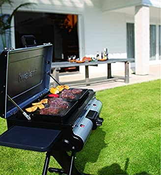 IWATANI CORPORATION OF AMERICA G-Station Portable BBQ Grill Station, 40.55 by 20.87 by 47.64 , Silver