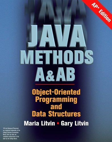 Java Methods A&AB, AP Edition ()