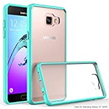 Samsung Galaxy A5 (2016) / A510F Case, INNOVAA Luminous Crystal Clear Series Bumper Case (Not Compatible with Samsung Galaxy A5 (2015)) W/ Free Screen Protector & Stylus Pen - Teal