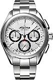 Alpina Geneve Alpiner 4 Flyback Chronograph AL-760SB5AQ6B Automatic Mens Chronograph Manufactury calibre