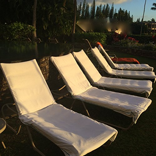 Cheap Chaise/Lounge Chair Cover 100% Cotton Terry