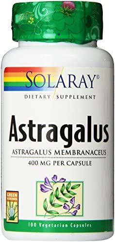Solaray Astragalus Capsules, 400 mg, 100 Count