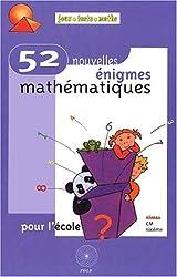 52 enigmes math. pour l'ecole