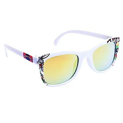 09b4a9c05f Amazon.com  Costume Sunglasses Looney Tunes White Frame Arkaid Party Favors  UV400  Toys   Games