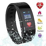 Fitness Tracker,Smart Watch Heart Rate Monitor Blood Pressure Bluetooth Fitness Activity Tracker,Waterproof Pedometer