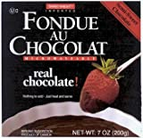 Swiss Knight Fondue Drk Chocolate - 2 x 17 Ounces