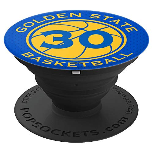 Golden State Basketball Number 30 Legend - PopSockets Grip and Stand for Phones and Tablets