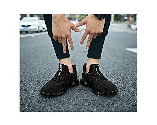 Hombre Caqui Clásico Suave Costura Lona N 40 de Mocasines Azul 42 de Talla Goma 44 CN Coser Color de Elemento de Super 39 Gris Color 41 Suela Planos 43 black Zapatos de xXq1Rww