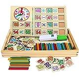 Amagoing Wooden Activity Center Learning Toys for Kids Children (Sticks)