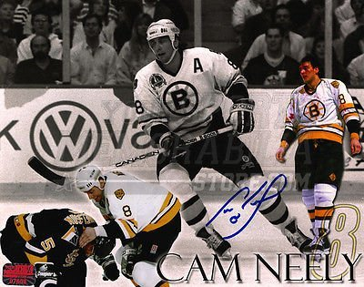 Cam Neely Boston Bruins Autographed 8x10 Photo Montage