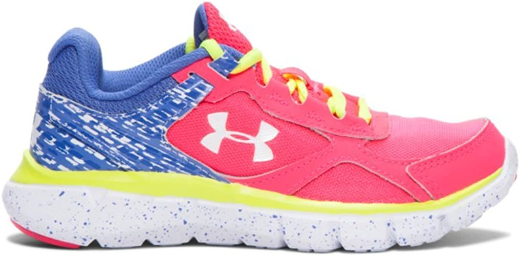 Under Armour Kids Girls UA GPS Infinity AC Wide MB Little Kid