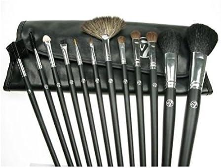 kit profesional de pinceles de lujo con 12 piezas con estuche negro by XENBORG: Amazon.es: Belleza