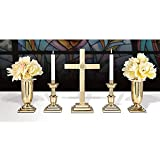 24'' Altar Set/IHS Brass Includes YC502-24, YC503-10 and YC504-11