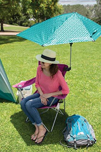 Sport-Brella Versa-Brella 4-Way Swiveling Sun Umbrella (Midnight Blue)