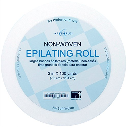 Appearus Non-Woven Waxing Roll Strips Epilating Roll, 3