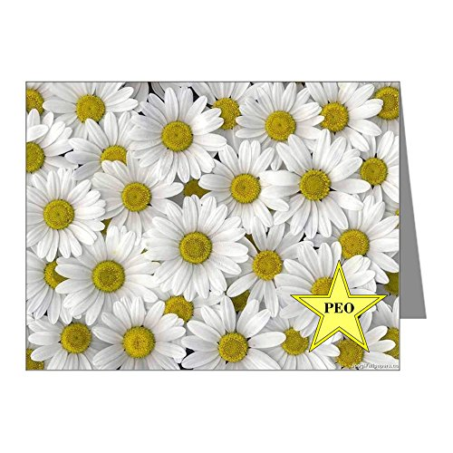 CafePress - Peo Daisy Note Cards - Blank Note Cards (Pack of 20) Glossy