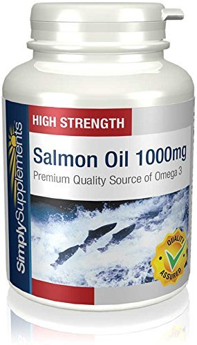 Simply Supplements Salmon Oil 1000mg 120 Capsules | Premi...
