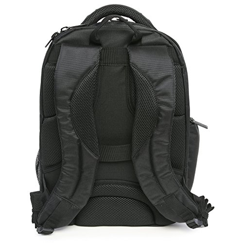 51FMHUm0N6L - Perry Ellis M150 Business Laptop Backpack, Black