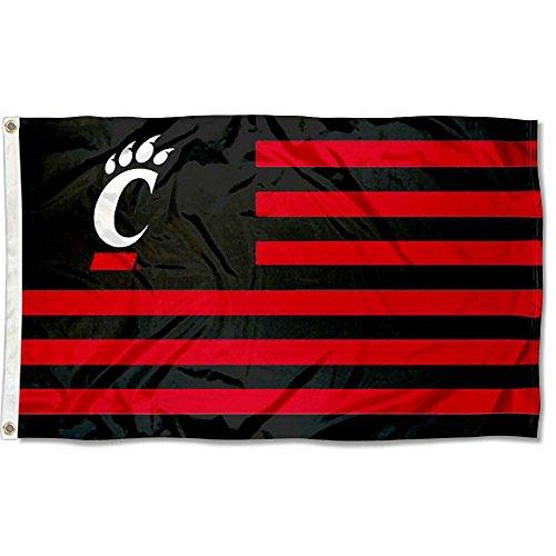 - Cincinnati Bearcats Stars and Stripes Nation Flag