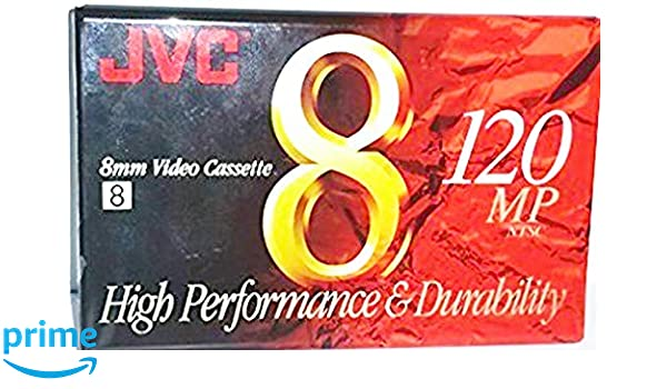 JVC 8mm MP Premium 120 Camcorder Video Cassette