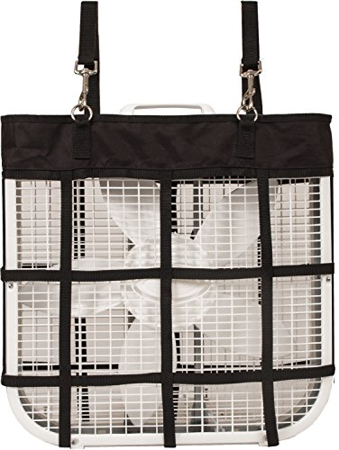 Stall Holder - Southwestern Equine Horse Stall Fan Bag (Black)