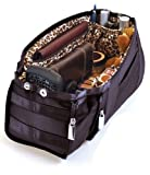Pursfection Purse Organizer - Black/Leopard