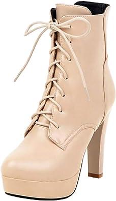 Zanpa Women Lace Up Shoes Wedges