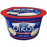 Oikos Organic Banana Cream Traditional Greek Yogurt, 5.3 Ounce - 12 per case.