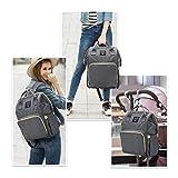 Mastery Baby Diaper Bag Backpack - Large Capacity