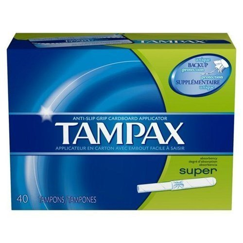 Applicator Flushable - Flushable Cardboard Applicator Super Absorbency by Tampax