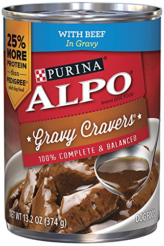 Purina ALPO Brand Dog Food Gravy Cravers With Beef in Gravy Wet Dog Food, 13.2 Ounce Can, Pack of 12 (Alpo Can Dog Food compare prices)