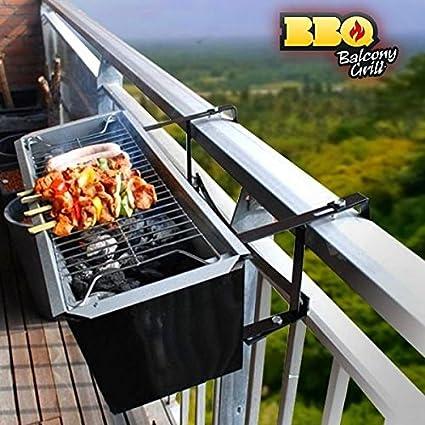 CEXPRESS - Barbacoa de Carbón para Balcón BBQ Quick