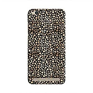 Cover It Up - Brown Black Pebbles Mosaic Redmi 5A Hard Case