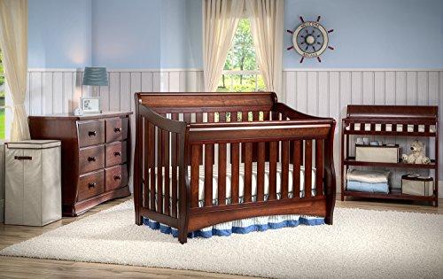 Delta Children Bentley S Series 4-in-1 Crib, Black Cherry Espresso by Delta Children (Image #6)