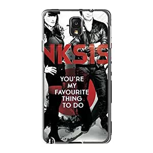 Samsung Galaxy Note3 MME14863Ikwc Custom Beautiful Lullacry Band Skin Shock-Absorbing Cell-phone Hard Covers -AlissaDubois
