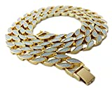 """Miami Cuban Link 30"""" Chain Necklace"""