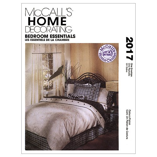 - McCall's Patterns M2017 Bedroom Essentials, One Size Only