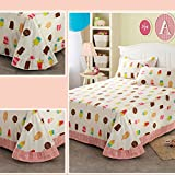 cotton sheets/One piece cotton sheets/Nordic simple style sheets-F 250x245cm(98x96inch)