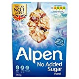 Alpen Swiss Style Muesli No Sugar Added Breakfast Cereal Wholegrain 560g By Thaidd