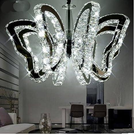LightInTheBox Butterfly Restaurant Lamp Modern Luxury LED Crystal ...